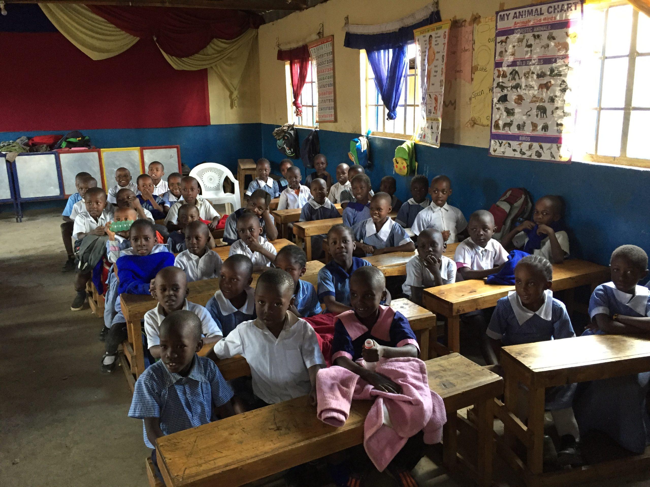 'Kosovo; Nursery School in Muthare Valley Nairobi
