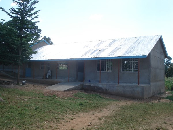 One of the new classrooms