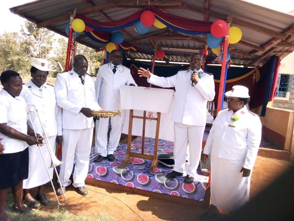 Instruments being dedicated to the service of God