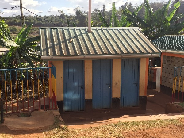 New Latrines at Kibera