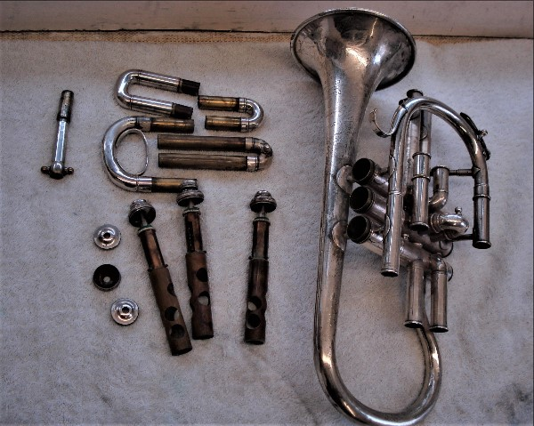 Donated Cornet before restoration