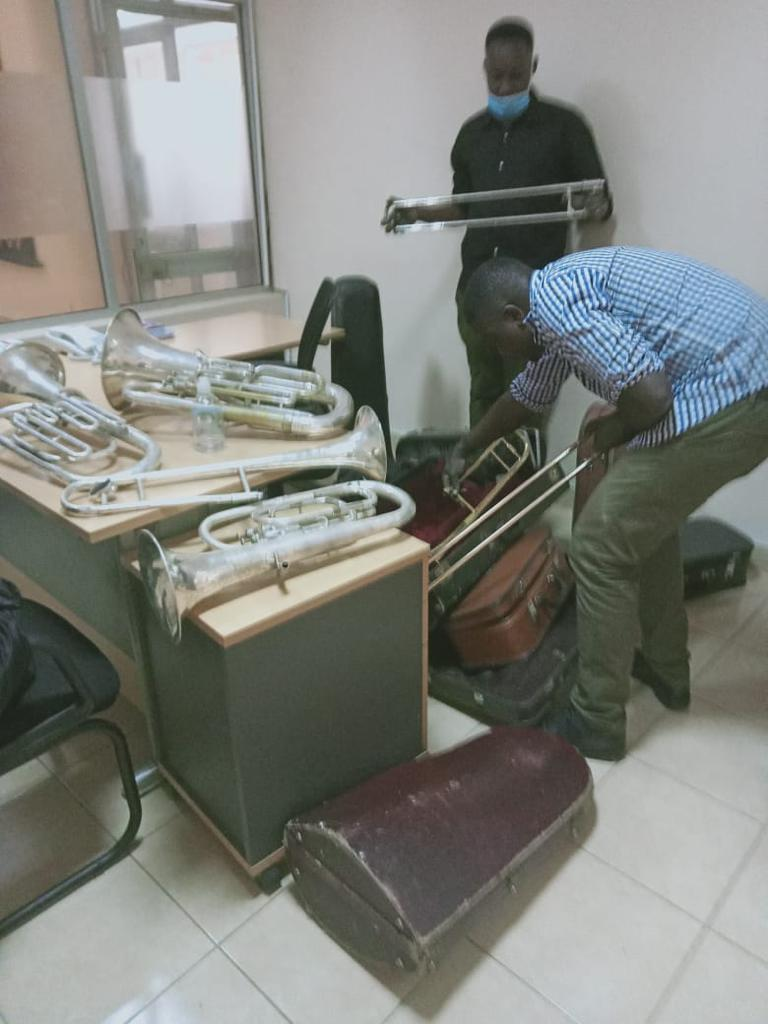 First commercial job of 20 instruments for repair.