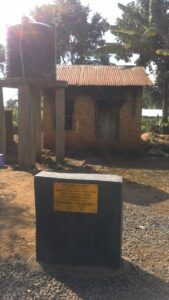 13- The borehole and water supply project